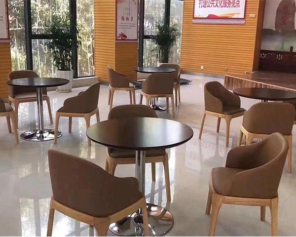 大厅休息桌椅