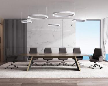 现代会议室办公家具